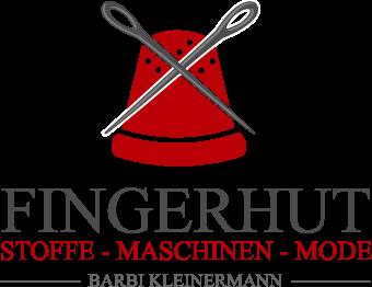 Fingerhut Stoffe & Nähmaschinen Retina Logo